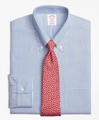 Brooks Brothers Madison Classic-Fit Dress Shirt, Non-Iron Dobby Candy Stripe