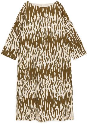 Arket Long Jersey Dress