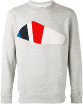 Bellerose towel patch sweatshirt - men - Cotton - XL