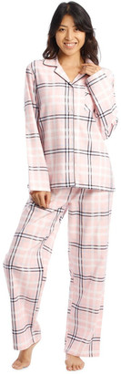 S.O.H.O New York Full Flannel Check Pyjamas