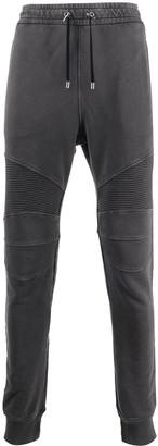 Balmain Rib Panelled Track Pants