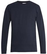 Sunspel Cellulock-cotton sweater