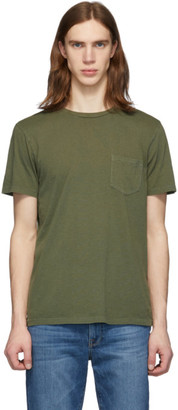 Frame Green Pocket T-Shirt