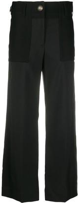 Sacai Wide-Leg Tailored Trousers