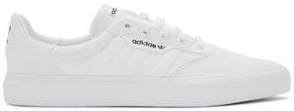 adidas White 3MC Sneakers
