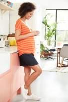 Next Womens Navy Maternity Denim Skirt