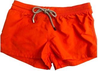 Vilebrequin Orange Polyester Shorts