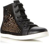 Lavinia High Top Metallic Trainer Shoes
