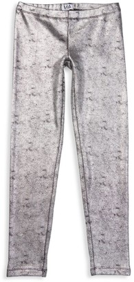 MIA New York Girl's Metallic Leggings