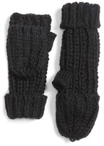 Hinge Textured Stitch Pop Top Mittens