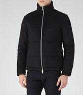 Reiss Torel Quilted Zip Jacket