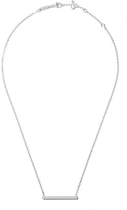 Chopard 18kt white gold Ice Cube Pure necklace