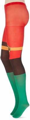 Meroncourt Women's DC Comics Batman Classic Robin Suit Tights 100 DEN