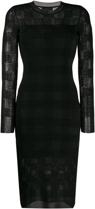 Rag & Bone Slim Fit Tartan Dress