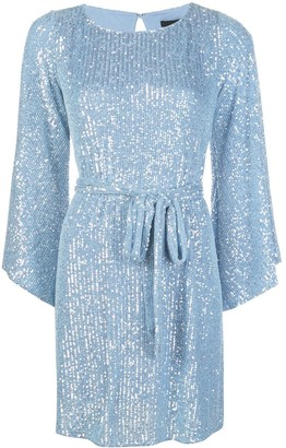Jay Godfrey Maggie sequinned mini dress