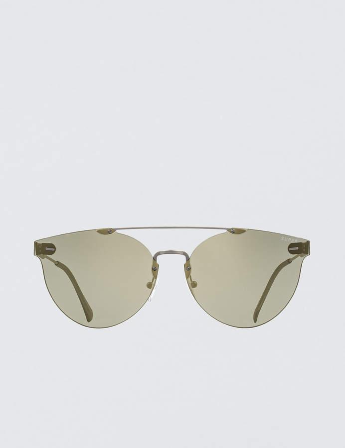 RetroSuperFuture Super By Tuttolente Giaguaro Ivory Sunglasses