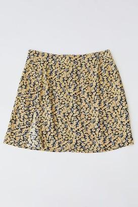 Motel Shenka Satin Mini Skirt
