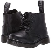 Dr. Martens Kid's Collection 1460 Pascal Mono Boot (Toddler) (Black Virginia) Kids Shoes