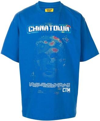 Chinatown Market AI graphic-print cotton T-shirt
