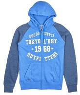 Burton Mens Tokyo Laundry Arapaho Indigo Marl Zip-Through Hoodie*