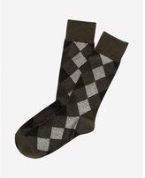 Express diamond dress socks