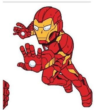 Iron Man Super Hero Adventures Pillow Buddy