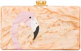 Edie Parker Jean Flamingo Clutch