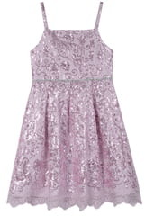Pippa & Julie Sequin Lace Dress