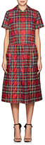 Comme des Garcons Women's Plaid Diamond-Quilted Dress