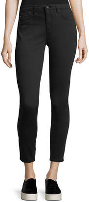 AG Jeans Legging Ankle Leatherette Light - Black