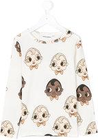 Mini Rodini babies print sweatshirt