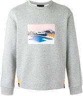 Plac printed sweatshirt - men - Cotton/Polyester - S