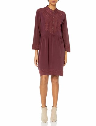 3J Workshop by Johnny was Women's Silk Embroidered Long Sleeve Dress