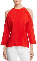 Ramy Brook Vivica Cold Shoulder Top