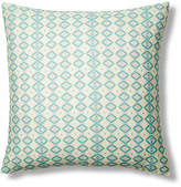 Bunglo By Shay Spaniola Cabo 20x20 Pillow - Aqua