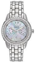 Citizen Silhouette Eco-Drive Swarovski Crystal Watch