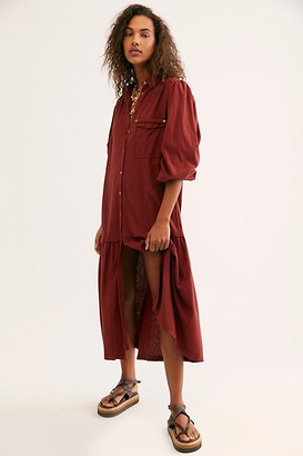 Free People Fp Beach Old Bay Shirtdress by FP Beach at