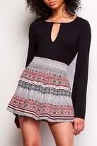 BB Dakota Grae Printed Skirt