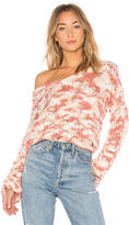Tularosa x REVOLVE Brooklyn Sweater in Pink. - size L (also in M,S,XL,XS)