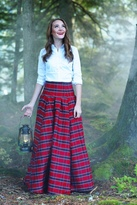 Shabby Apple Waltzing Matilda Skirt Red Plaid-LIMITED EDITION