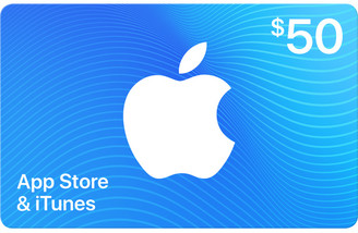 Apple $50 App Store & iTunes Gift Card by Email