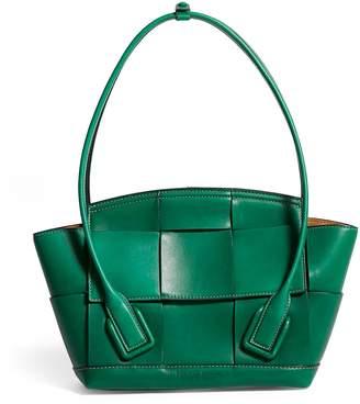 Bottega Veneta Leather Arco 29 Top-Handle Bag