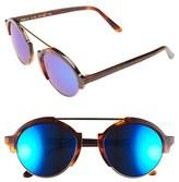 Illesteva Women's 'Milan Iii' 54Mm Sunglasses - Havana/ Blue