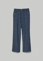 Needles Men's String Cowboy Pant in Blue Size Small