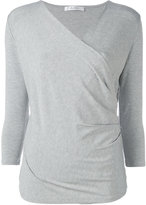 Max Mara wrap shirt