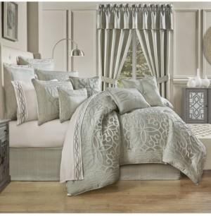 J Queen New York Five Queens Court Nouveau 4 Piece California King Comforter Set Bedding