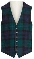 Ralph Lauren Black Watch Tartan Wool Waistcoat