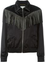 Saint Laurent fringed jacket