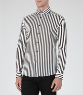 Reiss Beetle Striped Shirt