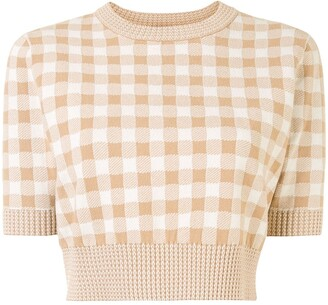 Altuzarra Skylar knitted top